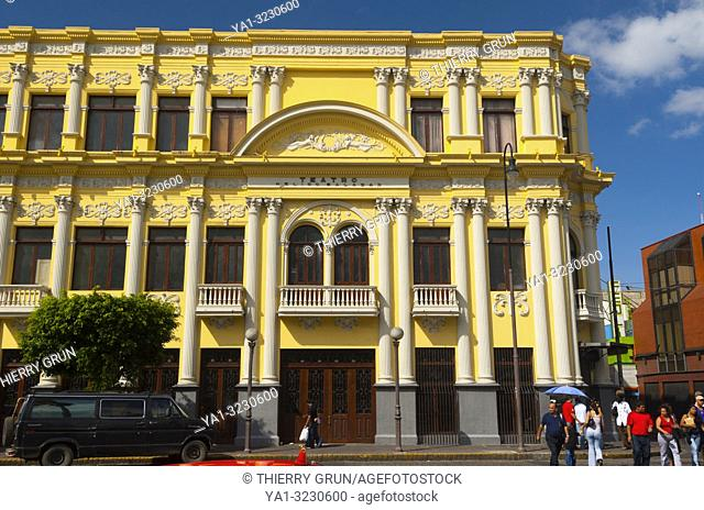 Costa Rica, San Jose, Popular Melico Salazar theater