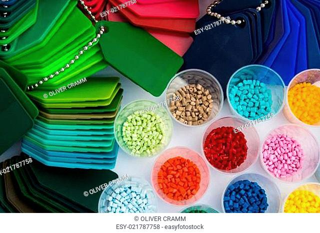 plastic polymer granulate resin