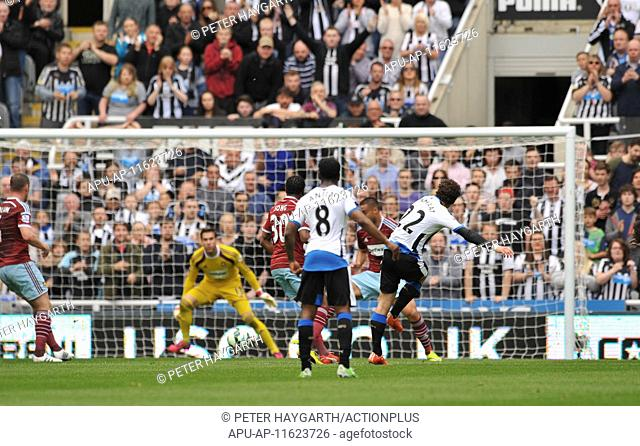 2015 Barclays Premier League Newcastle v West Ham May 24th. 24.05.2015. Newcastle, England. Barclays Premier League. Newcastle United versus West Ham United