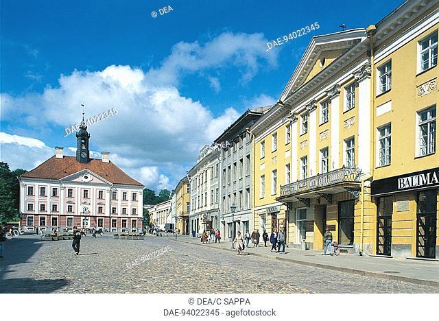 Estonia - Tartu - Town Hall Square (Raekoja Plats)