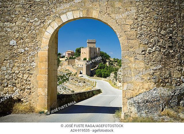 Castle, Alarcon, Cuenca province, Castilla-La Mancha, Spain