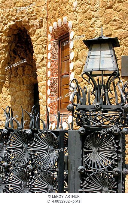 Spain, Catalonia, Barcelona, Guell park