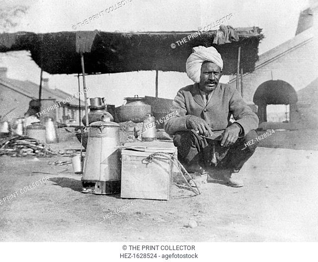 Char-wallah, Howshera, 1917