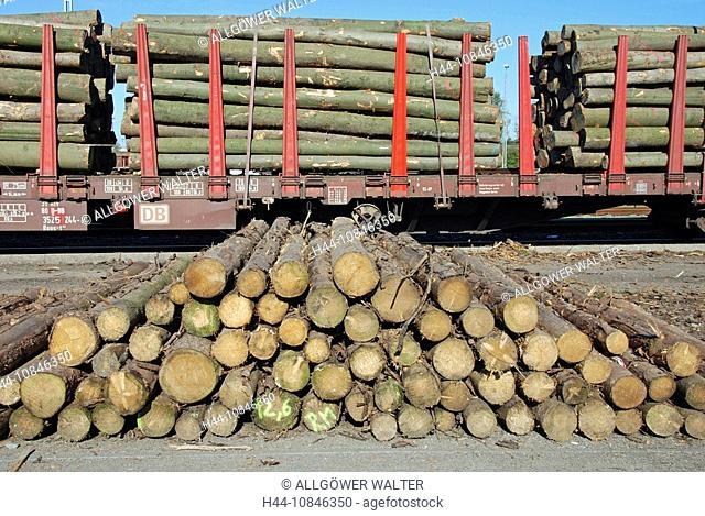 Railway, Railroad, Cargo, Deutsche Bahn AG, Germany, Europe, electricity, energy, Europe, rails, goods, goods traffic