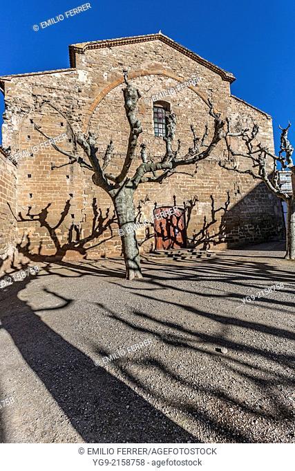 Church in Balaguer. LLeida. Spain