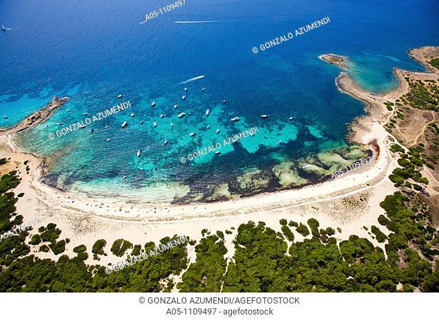 Es Caragol Beach. Majorca. Balearic Islands. Spain