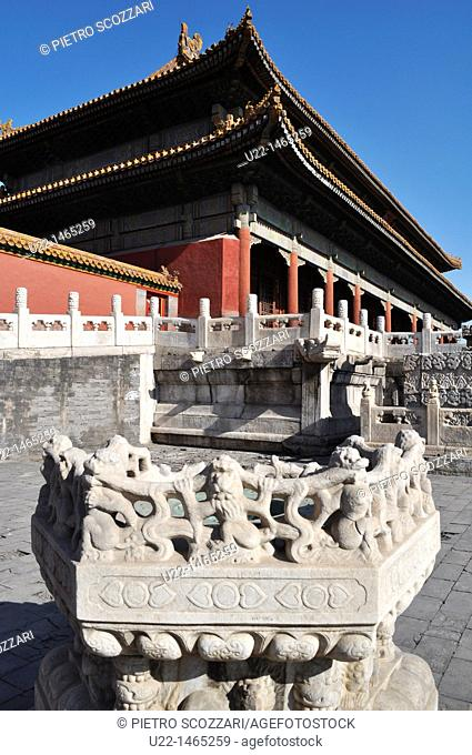 Beijing (China): the Hall of Supreme Harmony at the Forbidden City