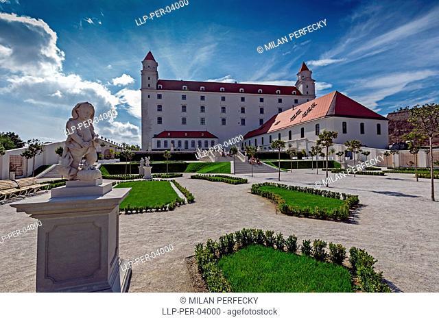 Castle gardens, Bratislava - Slovakia
