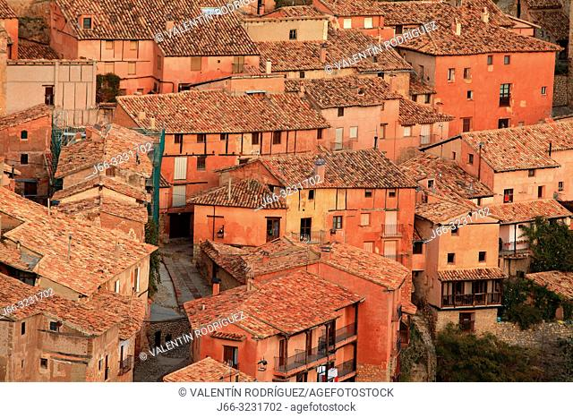 View of Albarracín. Teruel