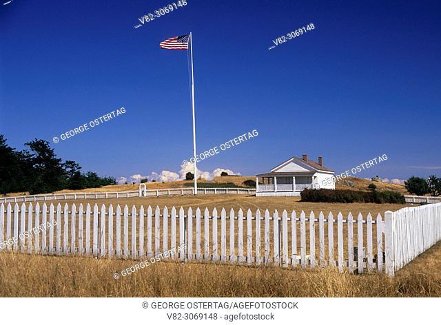 Officers' Quarters, American Camp, San Juan Island National Historic Park, Washington, USA