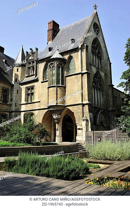 Cluny Museum. Paris, France