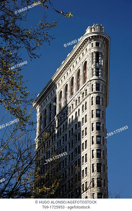 Flat iron building. Manhattan. New York City USA