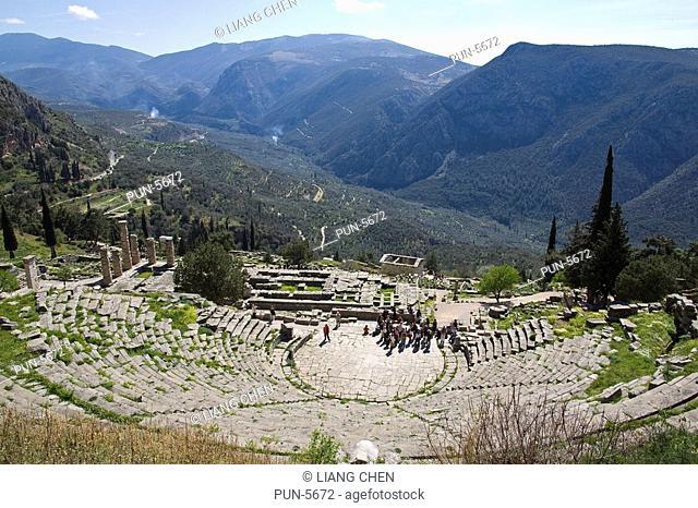 Sanctuary of Apollo in Delphi