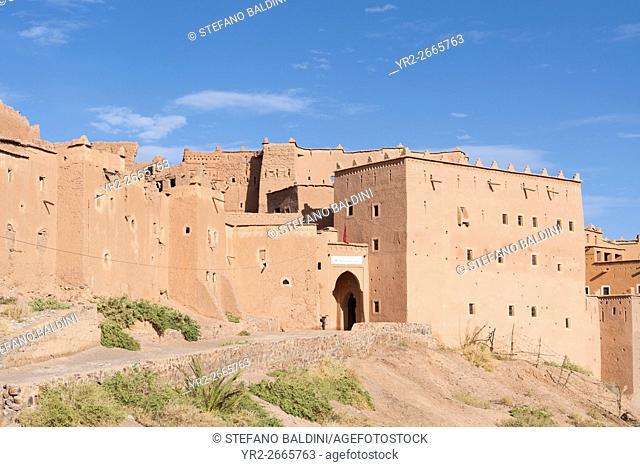 Kasbah Taourirt, eastern Ouarzazate, Morocco