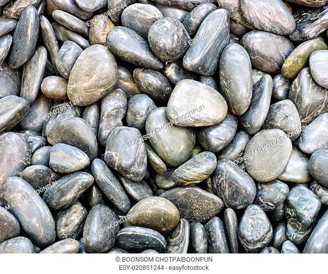 Black stones background