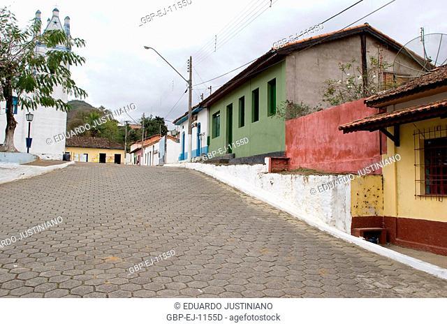 Streets, Houses, Iporanga, São Paulo, Brazil