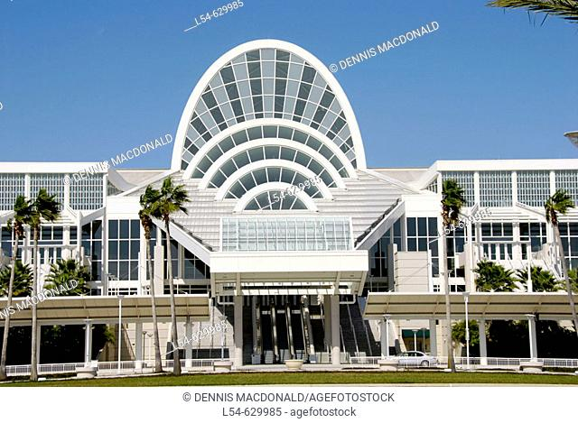 Orange County Convention Center (OCCC). Kissimmee. Orlando Disney Theme Park Area. Florida USA