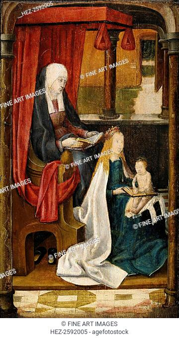 Madonna Teaching the Infant Christ Reading, 1480. From a private collection