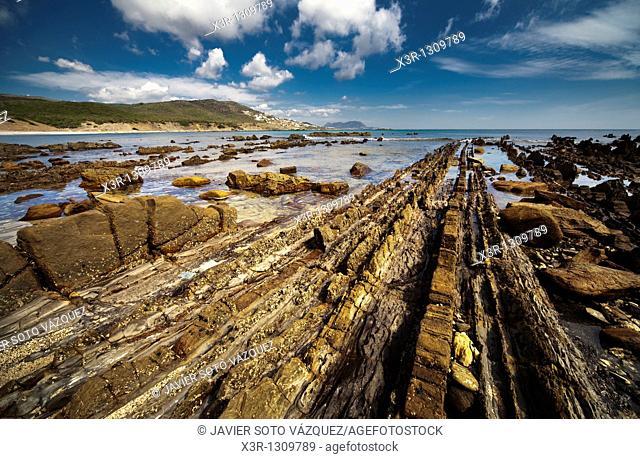 Coastal landscape, Algeciras, Andalusia, Spain