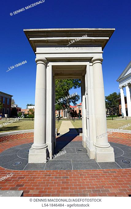 James Meredith Memorial Ole Miss Campus University Oxford Mississippi MS