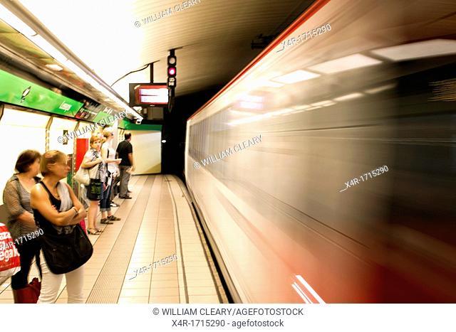 Barcelona's Metro