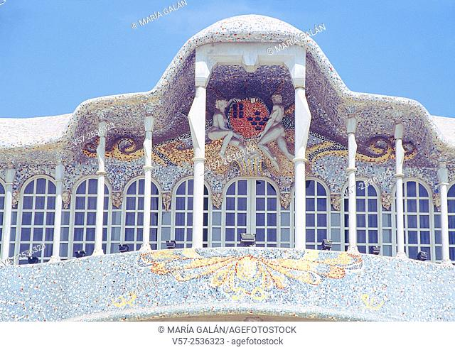 Facade of Regional Assembly building. Cartagena, Murcia, Spain