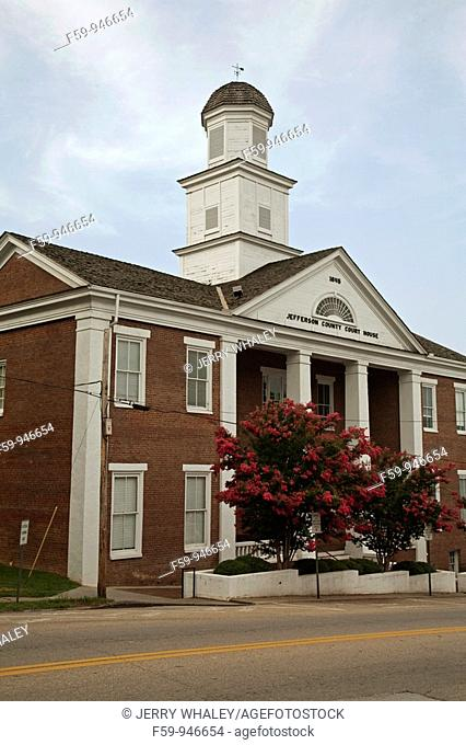 Jefferson County Courthouse, Dandridge, Tennessee, USA