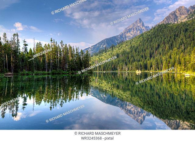 String Lake, Grand Teton National Park, Wyoming, United States of America, North America