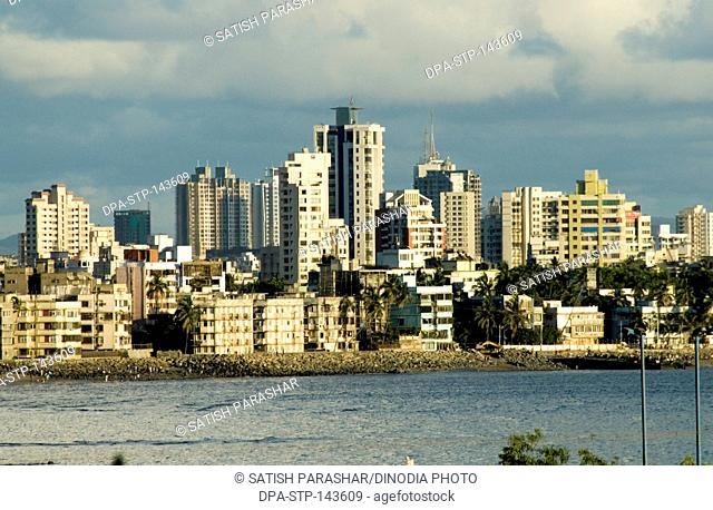 View of mahim khadi creek ; Bombay now Mumbai ; Maharashtra ; India