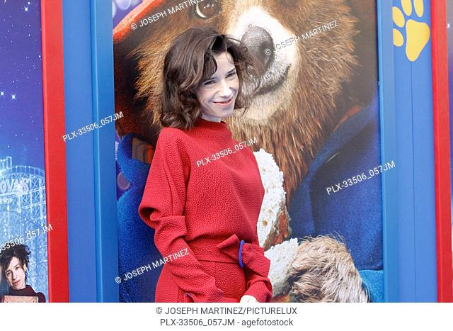 """Sally Hawkins at the Premiere of Warner Bros' """"""""Paddington 2"""""""" held at the Regency Village Theatre in Westwood, CA, January 6, 2018"""