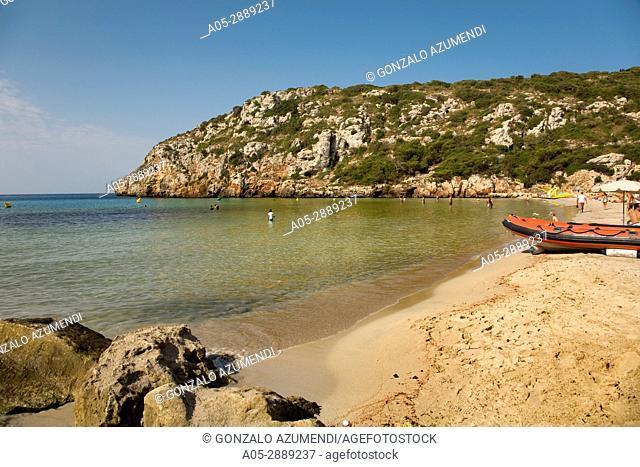 Cala n Porter.Menorca. Minorca.Islas Baleares. Balearic Islands. Spain