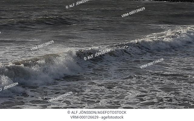 Waves at coast