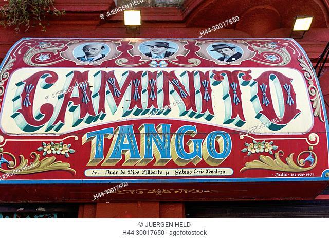 Argentina, Buenos Aires, Caminito, La Boca, tango