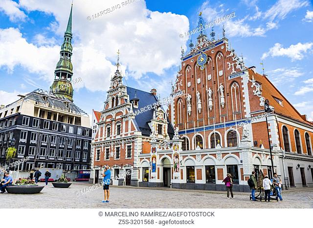 House of the Blackheads is a building situated in the old town of Riga. The original building was erected during the first third of the 14th century for the...