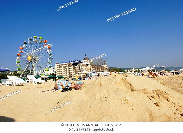 Golden Beach, Bulgaria, Black Sea, Zlatni Pjasaci