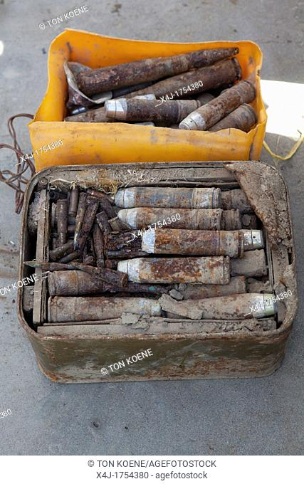police captured ammunition from islamic fundamentalists meant for a suicide attack