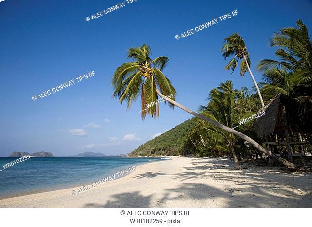 Philippines, Palawan, el nido,the beach