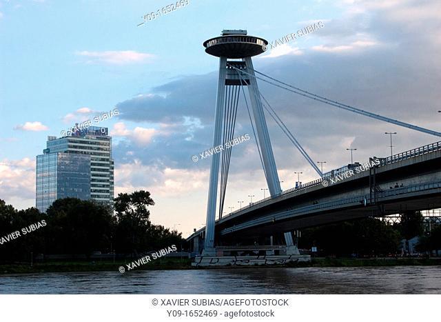 Novy Most, New Bridge, Bratislava, Slovakia