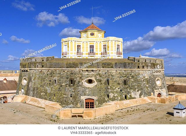 House of the Governor in Fort of Graca, Garrison Border Town of Elvas and its Fortifications, Portalegre District, Alentejo Region, Portugal, Europe