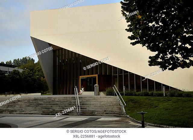 UPV Building on campus of San Sebastian, Basque Country
