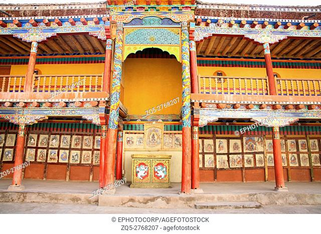 Hemis Monastery is a Tibetan Buddhist monastery (gompa) of the Drukpa Lineage, located in Hemis, Ladakh (within the Indian state of Jammu and Kashmir)