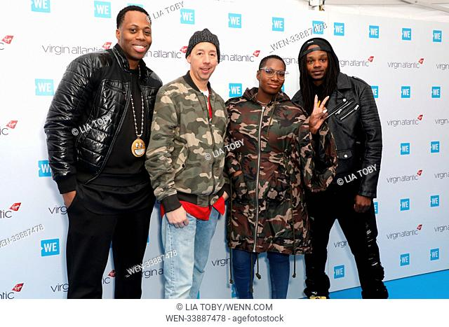 WE Day UK held at Wembley Arena - Arrivals Featuring: Celebrity Marauders, Kardinal Offishall, DJ Starting From Scratch, Lissa Monet, Dready Where: London