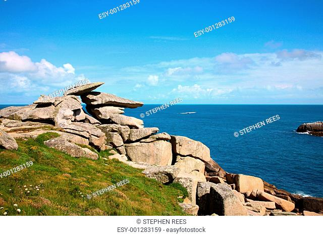 Pulpit rock, Isles of Scilly, Cornwall
