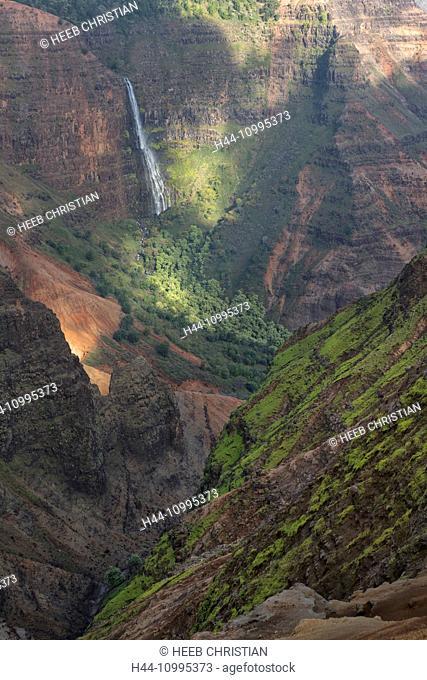 USA, Vereinigte Staaten, Amerika, South Pacific, Hawaii, Kauai, Waimea Canyon