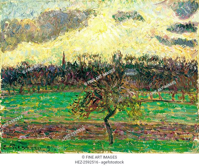 The Meadows at Éragny, Apple Tree, 1894. Found in the collection of the Thyssen-Bornemisza Collections