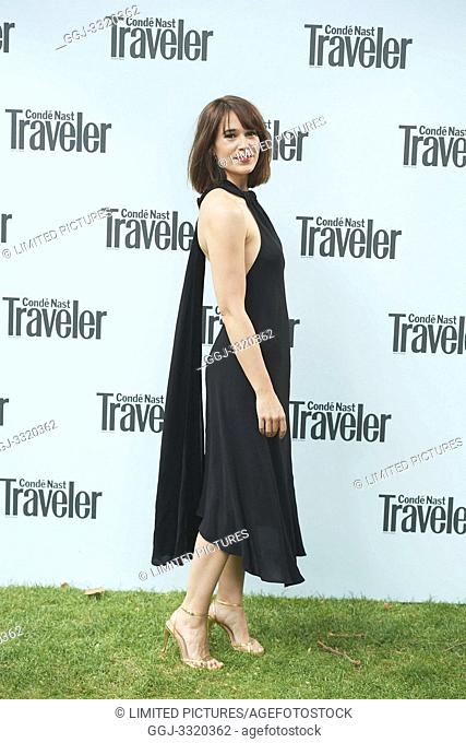 607b2aa0a3 Celia Freijeiro attends Conde Nast Traveler 2019 Awards at Embassy of Italy  on June 4,