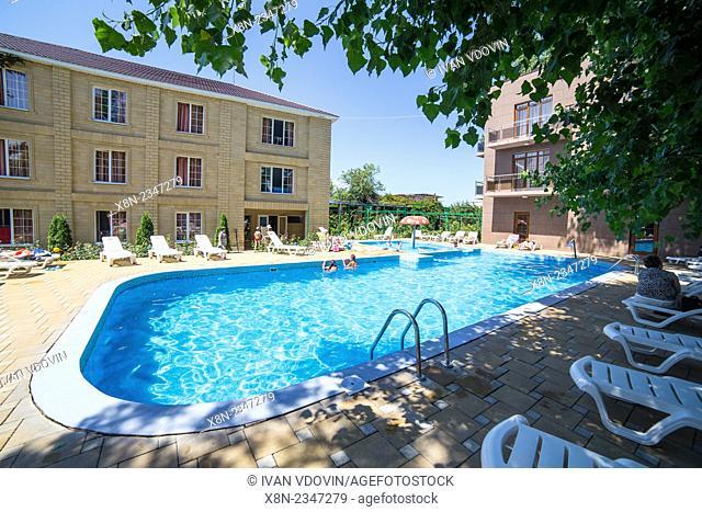 Swimming pool, resort, Russia
