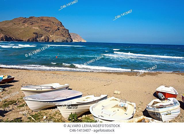Las Negras, Natural Reserve of Cabo de Gata-Nijar  Almeria province  Andalucia  Spain
