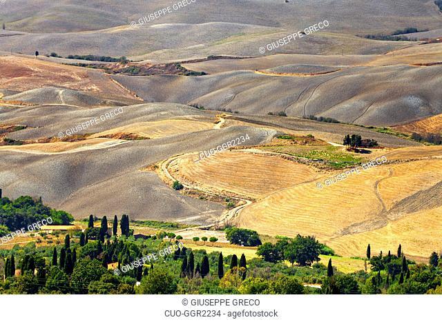 Countryside around Volterra,Tuscany, Italy, Europe