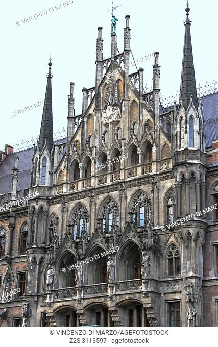 New Town Hall facade, Munich, Germany